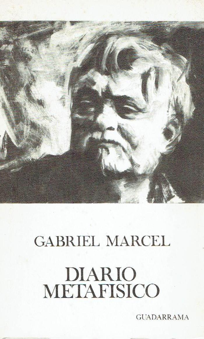 gabriel marcel - diario metafisico