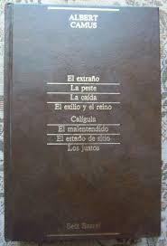 Albert Camus - Summa literaria Editorial Seix Barral, S. A. 1985. ISBN 84-322-2404-9
